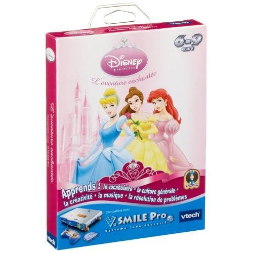V.Smile - jeu educatif - Pro Disney Princess - l'aventure enchantee