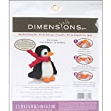 Dimensions 72-73804 Needlecrafts Needle Felted Character Kit, Penguin