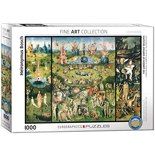 EuroGraphics The Garden of Earthly Delights by Heironymus Bosch (1000 Piece) - Jigsaw Puzzle Eurographics