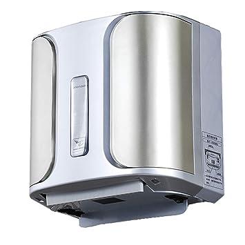 Secador de Manos Doméstico, Secado Rápido para la Escuela, Baño, Centro Comercial, 950w, 25x17x25CM (Color : Blanco): Amazon.es: Hogar