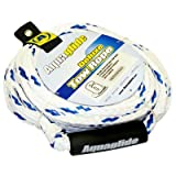 Aquaglide 6 Person Deluxe Tow Rope, White