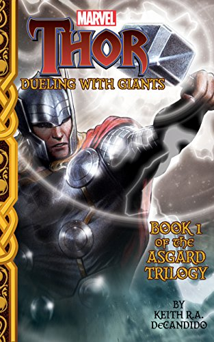 book cover of Thor: Dueling with Giants