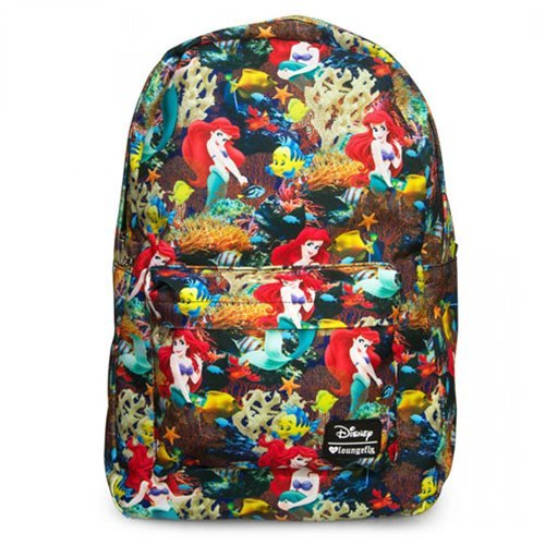 Loungefly Little Mermaid Floral Backpack
