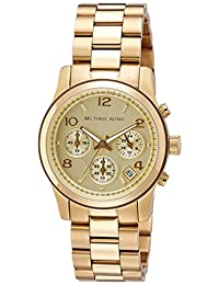 Michael Kors Women's MK5055 Runway Gold-Tone Watch