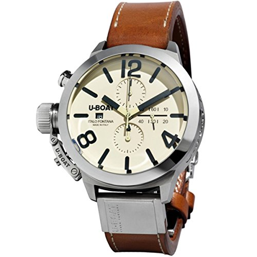 U-Boat 7431 Classico 45 Chronograph Stainless Steel Automatic Men's Watch