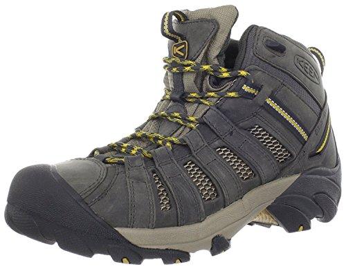 KEEN Mens Voyageur Mid Hiking Boot, Raven/Tawny Olive, 39.5 D(M) EU/6 D(M) UK