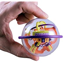 Worlds Smallest Perplexus Original - Miniature Perplexus is Fully Functional. Great Brain Teaser Puzzle for Adults and Kids Alike