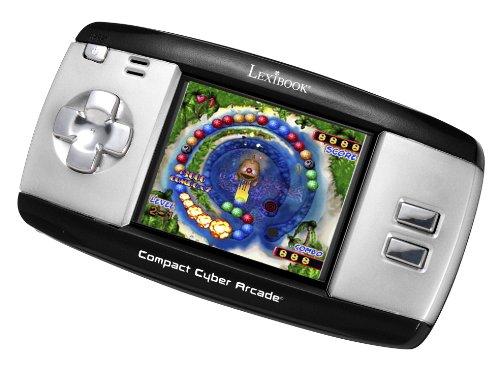 Lexibook JL2374BK - Compact Cyber Arcade, schwarz