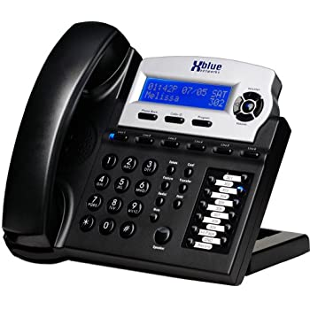 High Quality Xblue X16 Small Office Phone System 6 Line Digital Speakerphone (XB1670 00,  Charcoal