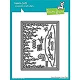 Lawn Fawn Lawn Cuts Custom Craft Die LF1624 Bayou Backdrop