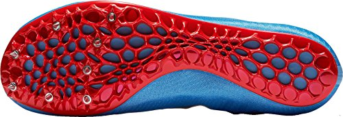 Nike Mens Zoom Superfly Elite Track And Field Scarpe Noi Blu / Rosso