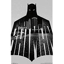 Trends International RP14547 Batman Text Wall Poster