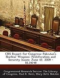 Crs Report for Congress, Paul K. Kerr, 1287864759