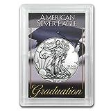 #7: 2017 1 oz Silver American Eagle BU (Graduation, Harris Holder) 1 OZ Brilliant Uncirculated