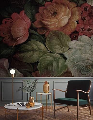 dutch floral wallpaper