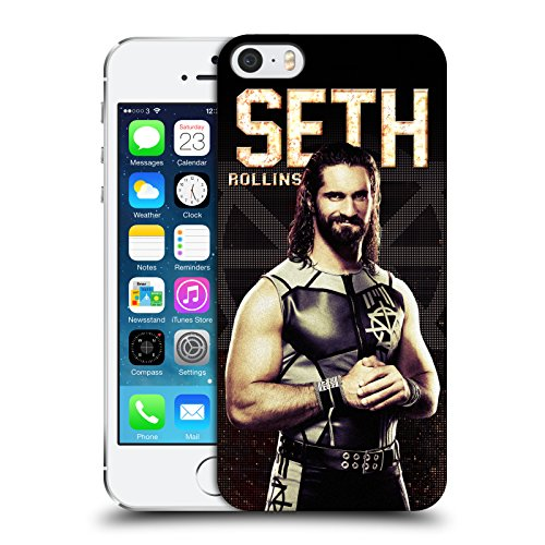 Official WWE Seth Rollins Superstars Hard Back Case for Apple iPhone 5 iPhone 5s iPhone SE