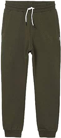 Pantalón Mayoral Felpa Básico Verde Suculenta Niño