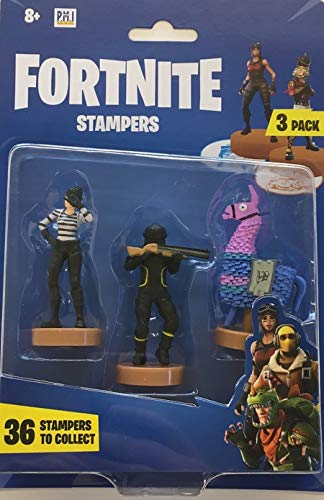 Amazon.com: FORTNITE FRT02 Blister Pack of 3 Character ...