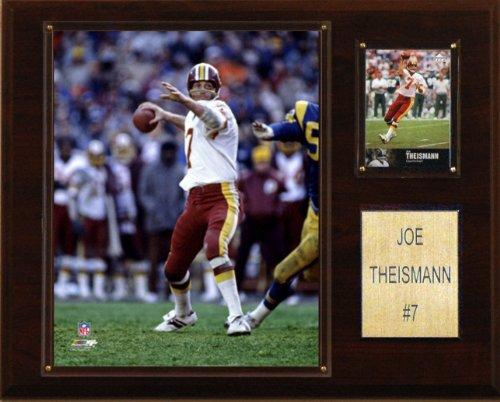 (NFL Joe Theisman Washington Redskins Player Plaque)