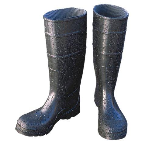 Majestic Glove 8220//6 PVC Boot Black 6 Majestic Gloves Plain Toe 6