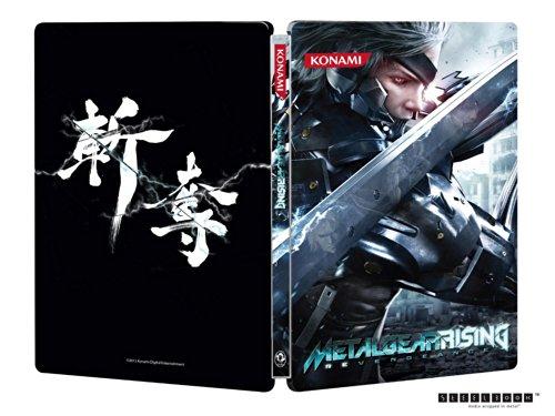 METAL GEAR RISING REVENGEANCE Steelbook CASE ONLY & DLC XBox 360 G1 Size (Metal Gear Rising Revengeance 360)