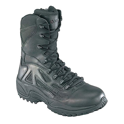 Tactical Boots, Lthr/Mesh, 8In, 11W, PR