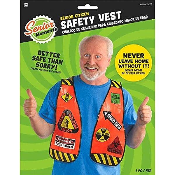 Senior Citizen Safety Vest, Party Favor: Kitchen & Dining - Amazon.com
