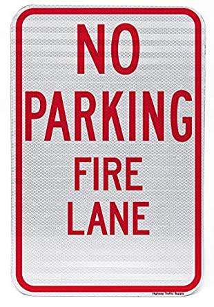 Overig Handicap Parking Only Highway Street Sign Aluminum