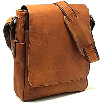 Purple Relic  NEW ARRIVAL 11 inch Sturdy Vintage Leather Man Bag iPad Bag  Laptop Messenger 0b63b853dde68