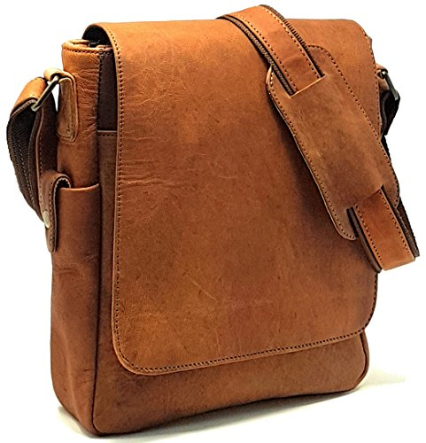 Discover Bargain Purple Relic: NEW ARRIVAL 11 inch Sturdy Vintage Leather Man Bag iPad Bag Laptop Me...