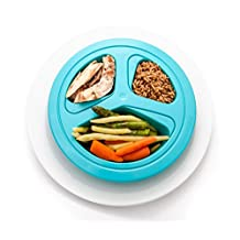 Portions Master Plate | Diet Weight Loss Aid | Food Management & Servings Control (125 lb / 57 kg)
