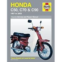 Honda C50, C70 & C90 (67 - 03): 1967 to 2003