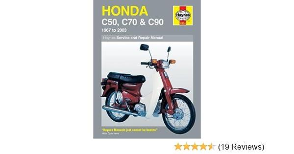 Honda C50, C70 & C90 1967-2003 (Haynes Service & Repair Manual ... on