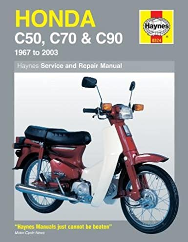 honda c50 c70 c90 1967 2003 haynes service repair manual rh amazon com Honda Cub Custom Used Honda Super Cub
