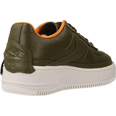 Nike Mujer AIR FORCE 1 JESTER Xx W Beige Verde Textíl