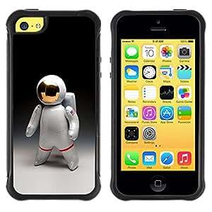 "Pulsar iFace Series Tpu silicona Carcasa Funda Case para Apple iPhone 5C , Traje espacial Astronauta Hombre Cosmonauta"""