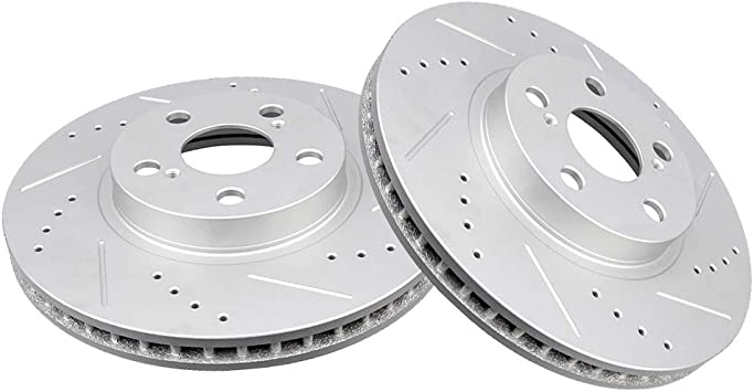 Front Brake Rotors /& Rear Drums for Toyota Corolla 2003-2004-2005-2006 to 2008