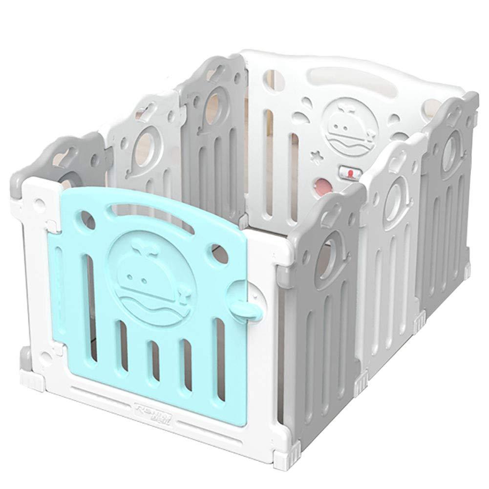 赤ちゃんの囲い 高密度ポリエチレンを囲むベビーゲームポータブルベビークローラープロテクター洗える屋内遊び場(75cm * 112.5cm)   B07JLPKPVQ