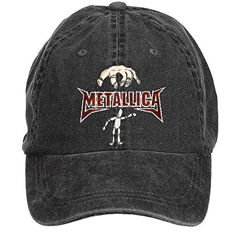 Tommery Unisex Metallica Wallpaper Hip Hop Baseball Caps (Heavy Metal Band Murder)
