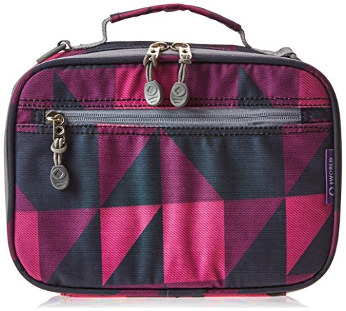 Cody Lunch Bag with Shoulder Strap Color: Block Pink