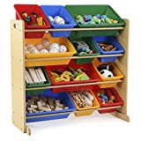 Tot Tutors WO560 Primary Colors Toy Organizer