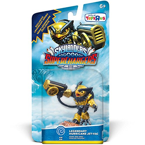 Skylanders SuperChargers: Drivers Legendary Hurricane Jet-Vac Character Pack