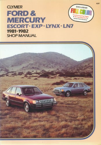 Ford & Mercury Escort-Exp-Lynx-Ln7: 1981-1989 Shop -