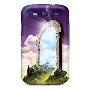 Awesome The Open Gate Flip Case With Fashion Design For Galaxy S3