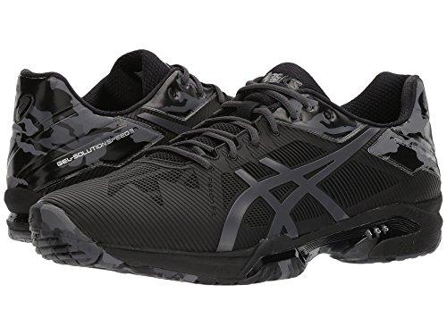 [asics(アシックス)] メンズランニングシューズ?スニーカー?靴 Gel-Solution Speed 3 L.E. Black/Dark Grey/Phantom 7.5 (25.5cm) D - Medium