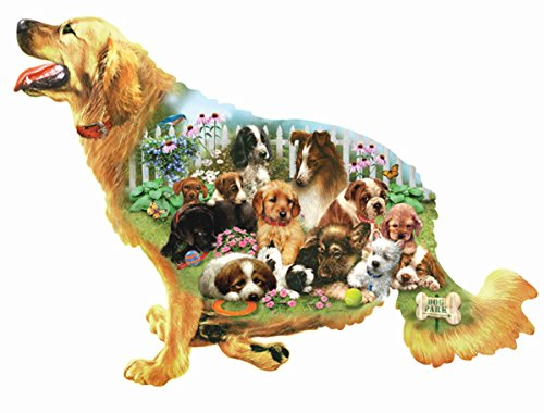 Waiting for a Walk Shaped Jigsaw Puzzle