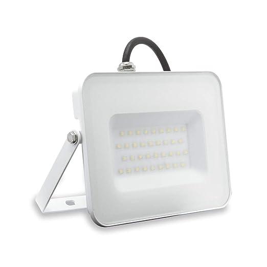 Lámpara FAFLAT30WBN Flat faro proyector LED 30 W 4000 K luz ...