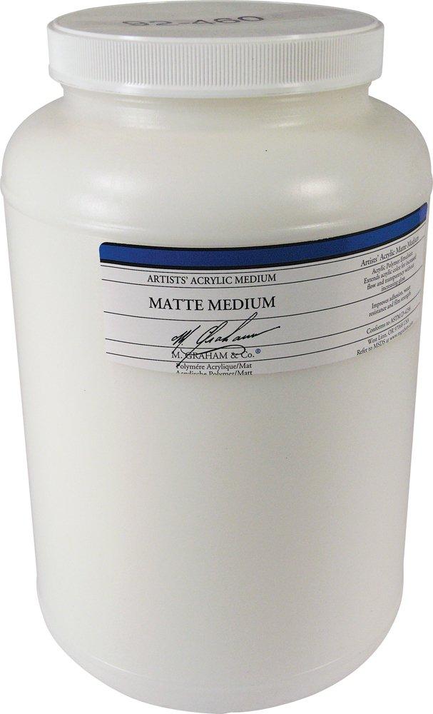 M. Graham 32-Ounce Acrylic Medium, Matte