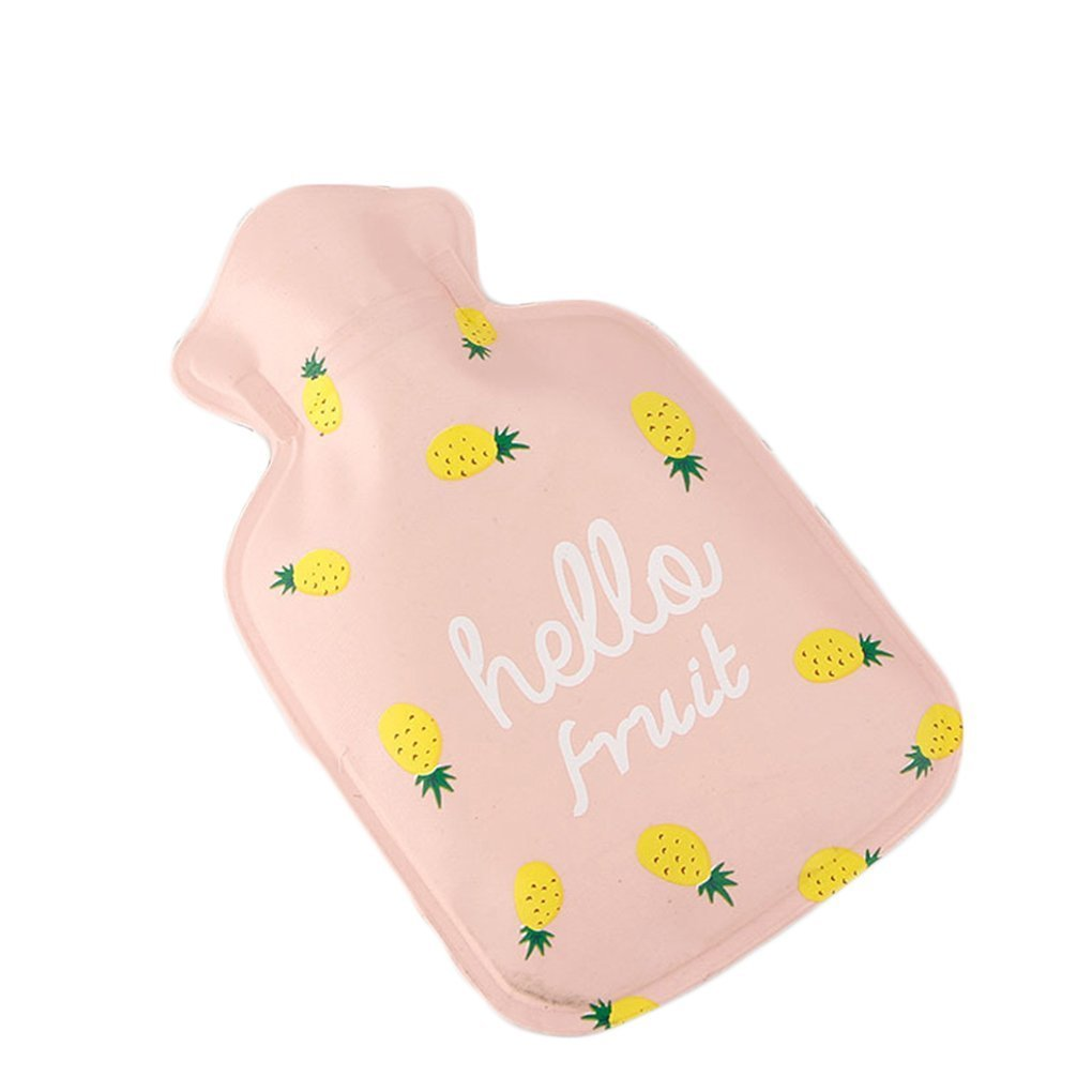Heylookhere Cute Mini Pineapple Hot Water Bottle Bag Warm Water Bag