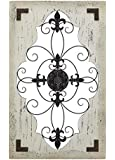 Deco 79 Cunningham Wood Metal Wall Décor
